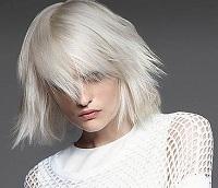 blond model dame